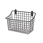 Spectrum® Vintage Large Cabinet & Wall Mount Basket in Grey