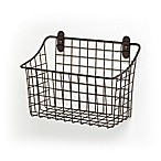 Spectrum® Vintage Large Cabinet & Wall Mount Basket in Bronze