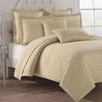 Lilith Reversible Full/Queen Quilt Set in Almond