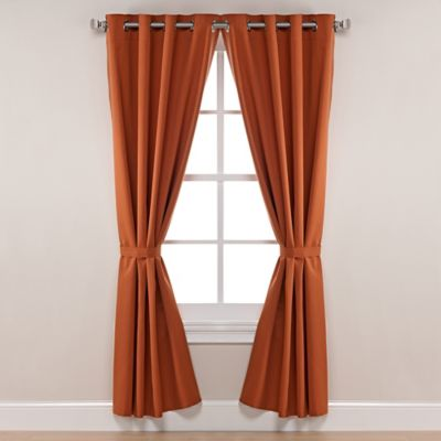 Buy Rust Curtains from Bed Bath & Beyond