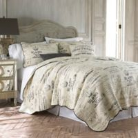 Levtex Home Girona King Quilt Set in Grey