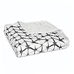 aden + anais® Pebble Shibori Silky Soft Dream Blanket in Black/White