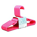 10-Pack Children's Hangers in Hot Pink