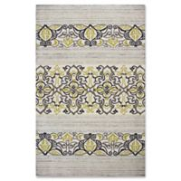 Donny Osmond Home Escape Serenity 7-Foot 6-Inch x 9-Foot 6-Inch Indoor/Outdoor Area Rug in Natural