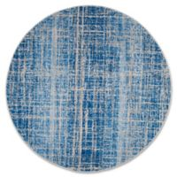 Safavieh Adirondack 6-Foot Round Area Rug in Blue