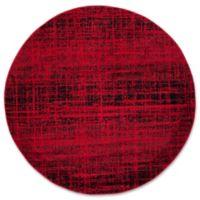 Safavieh Adirondack 6-Foot Round Area Rug in Red