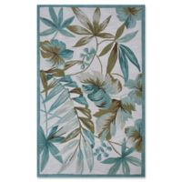 KAS Tropica Coral 3-Foot 3-Inch x 5-Foot 3-Inch Area Rug in Ivory