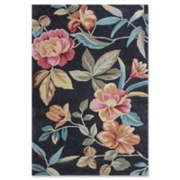 KAS Coral Flor 8-Foot x 10-Foot 6-Inch Area Rug in Charcoal