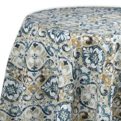 Town U0026 Country Sagrada 70 Inch Round Tablecloth