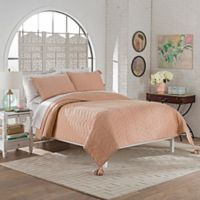 Marble Hill Nadia Queen Quilt Set in Dusty Rose