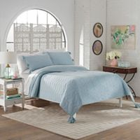 Marble Hill Nadia King Quilt Set in Spa