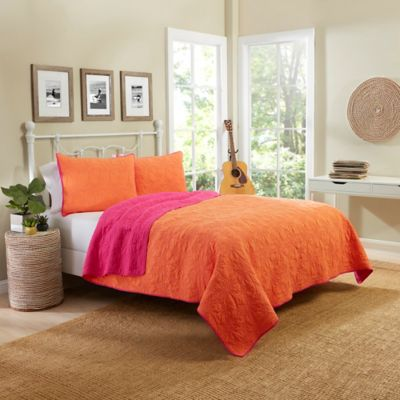 Buy Coral Quilt Bedding from Bed Bath & Beyond : coral quilt - Adamdwight.com