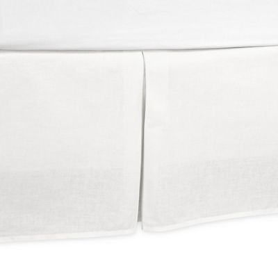 buy white bed skirts from bed bath & beyond