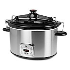 Kalorik 8 qt. Digital Slow Cooker in Stainless Steel