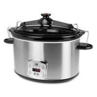 Kalorik® 8 qt. Digital Slow Cooker in Stainless Steel