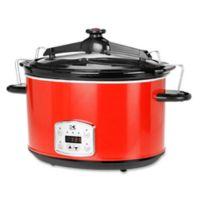 Kalorik® 8 qt. Digital Slow Cooker in Red