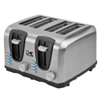 Kalorik® 4-Slice Toaster in Stainless Steel