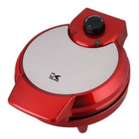 Kalorik® Heart-Shape Waffle Maker in Metallic Red