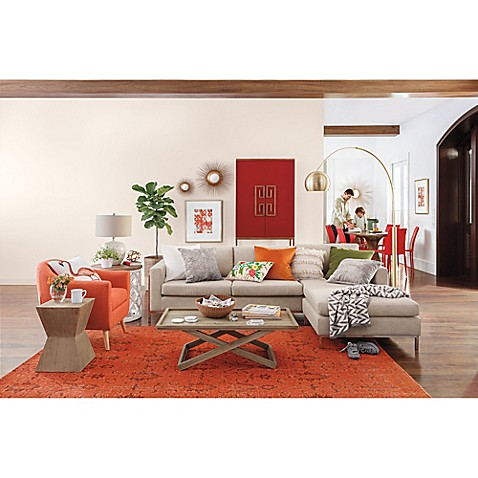 Mod Orange Contemporary Living Room Bed Bath Amp Beyond