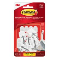 3M Command™ 9-Pack Small Wire Hooks