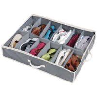 Shoes Under™ Shoe Storage Organizer in Grey