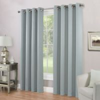 Imperial Lined 84-Inch Grommet Top Window Curtain Panel in Mineral