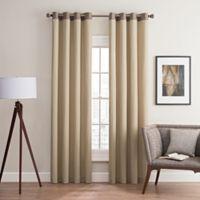 Costas Remix 63-Inch Grommet Top Window Curtain Panel in Linen