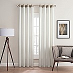 Costas Remix 84-Inch Grommet Top Window Curtain Panel in White