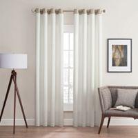 Costas Remix 63-Inch Grommet Top Window Curtain Panel in White