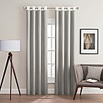 Costas Remix 84-Inch Grommet Top Window Curtain Panel in Grey