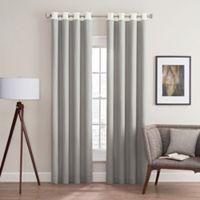 Costas Remix 84-Inch Grommet Top Window Curtain Panel in Grey