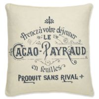 Levtex Home Girona Cacao Square Throw Pillow