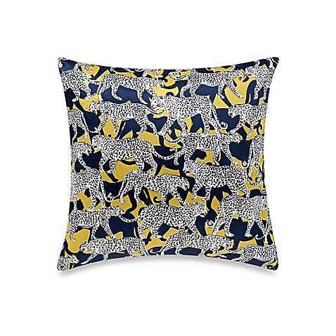 Kate spade new york leopard throw pillow bed bath beyond for Bed bath and beyond kate spade
