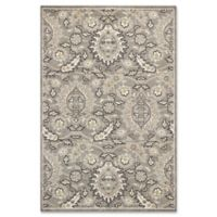 KAS Lucia Artisan 1-Foot 11-Inch x 3-Foot 9-Inch Indoor/Outdoor Accent Rug in Grey