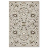 KAS Lucia Verona 1-Foot 11-Inch x 3-Foot 9-Inch Indoor/Outdoor Accent Rug in Silver