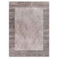 Retreat Border 5-Foot x 7-Foot Area Rug in Taupe