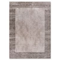 Retreat Border 6-Foot 6-Inch x 9-Foot 5-Inch Area Rug in Taupe