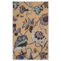 Coral Sofia 3-Foot 3-Inch x 5-Foot 3-Inch Area Rug in Gold