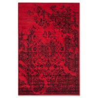 Safavieh Adirondack 5-Foot 1-Inch x 7-Foot 6-Inch Area Rug in Red/Black