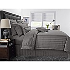 Wamsutta® 500-Thread-Count PimaCott® Damask Stripe Twin Duvet Cover Set in Grey