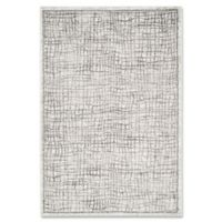 Safavieh Adirondack 5-Foot 1-Inch x 7-Foot 6-Inch Area Rug in Silver/Ivory