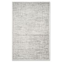 Safavieh Adirondack 6-Foot x 9-Foot Area Rug in Silver/Ivory