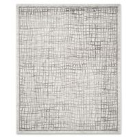 Safavieh Adirondack 10-Foot x 14-Foot Area Rug in Silver/Ivory