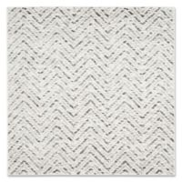 Safavieh Adirondack 6-Foot Square Area Rug in Ivory/Charcoal