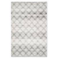 Safavieh Adirondack 6-Foot x 9-Foot Area Rug in Silver/Charcoal