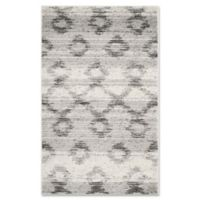 Safavieh Adirondack 3-Foot x 5-Foot Area Rug in Silver/Charcoal