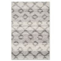 Safavieh Adirondack 4-Foot x 6-Foot Area Rug in Silver/Charcoal