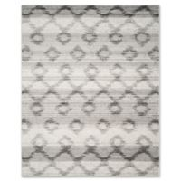Safavieh Adirondack 9-Foot x 12-Foot Area Rug in Silver/Charcoal