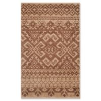 Safavieh Adirondack 2-Foot 6-Inch x 4-Foot Accent Rug in Camel/Chocolate