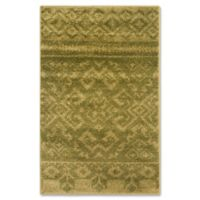 Safavieh Adirondack 2-Foot 6-Inch x 4-Foot Accent Rug in Green/Dark Green